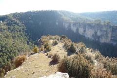 Hoz del rio Cuervo en el Castillo de los siete Condes