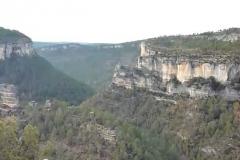 castillo-siete-condes sobre el rio Cuervo